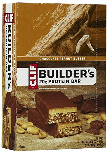 Clif Bar Builders Protein Bars Chocolate Peanut Butter 12 ct -- More info could be found at the image url.