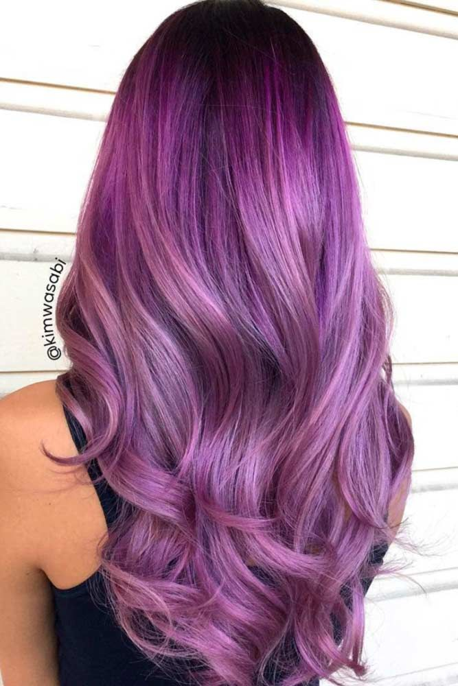 Purple hair color is the perfect option to step out of your box while creating a new look. Violet hair is everywhere these days, no matter if your locks are long and curly or short and straight. That is why if you ever wanted to do something crazy, it is high time to go purple. All the beauty of this color lies in the difference of shades you can choose from.
