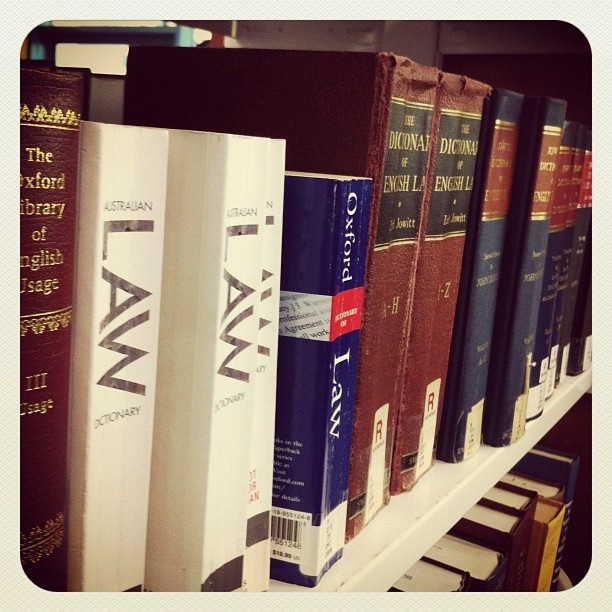 Law Dictionaries - available in the Law Library