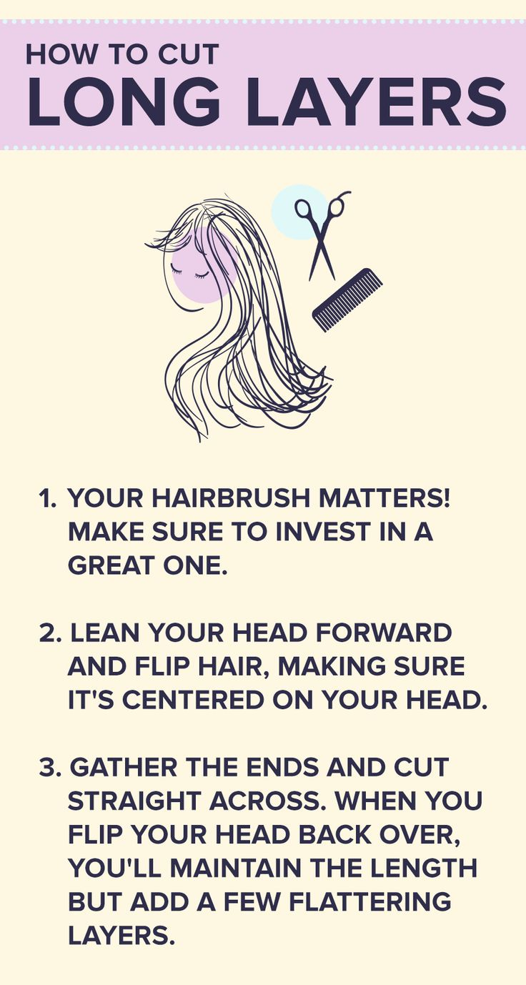 guide to cutting your own hair