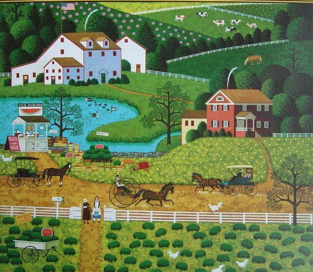 Jolly Hill Farm - Charles Wysocki