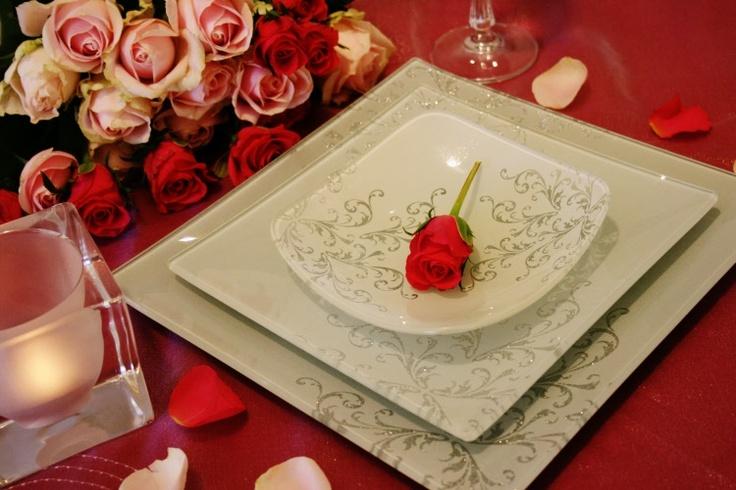 frost dinner set