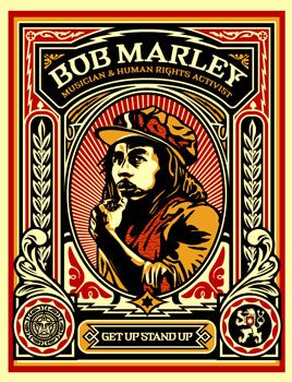 Obey Psychedelic Hippie Peace Art Poster ~ ☮~ღ~*~*✿⊱  レ o √ 乇 !! ~Bob Marley OBEY Print