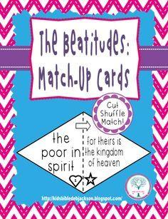 Bible Fun For Kids: The Beatitudes. good game.                              …