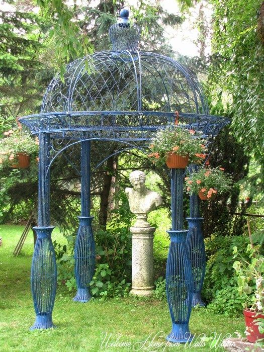 Victorian Gazebo Nothing Is So Lovelier Then Sitting In
