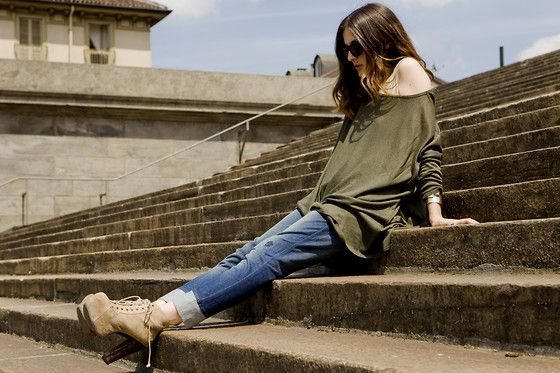 Eleonora C featuring DIESEL Jogg Jeans - Turin  http://www.diesel.com/female