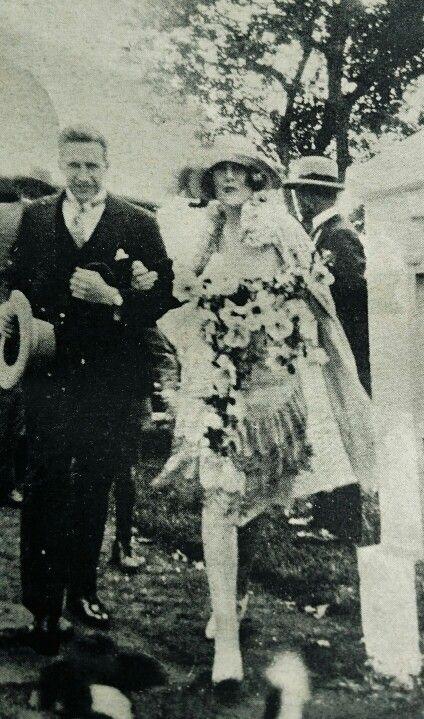 Die egpaar Dönges op hulle troudag, 30 Septwmber1926.