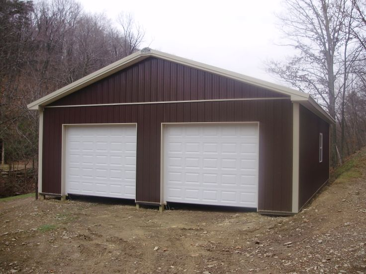 108 best two car garages images on pinterest car garage for 3 bay garage cost