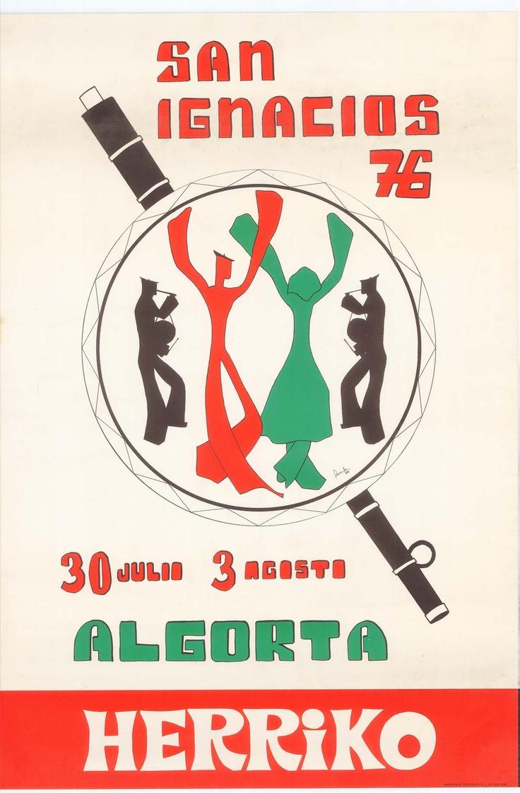 Cartel de fiestas de San Ignacio, 1976