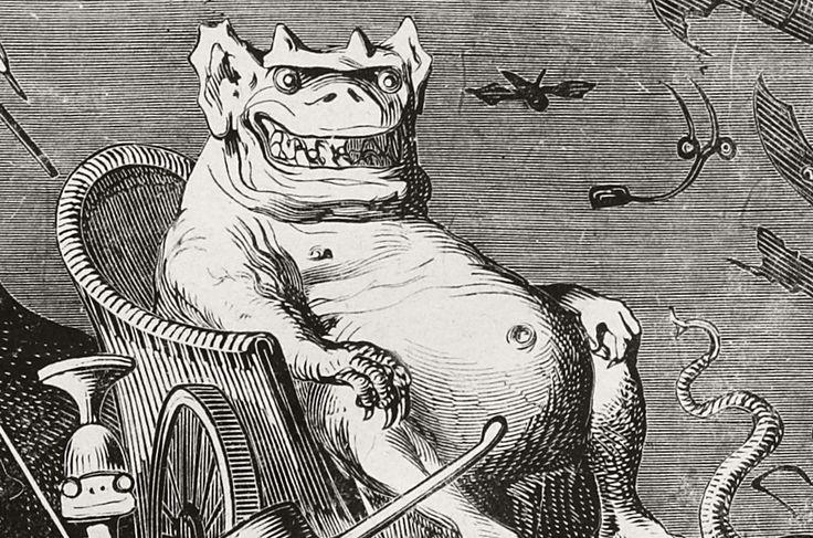 Gustave Doré, Les Oeuvres de François Rabelais - BNF