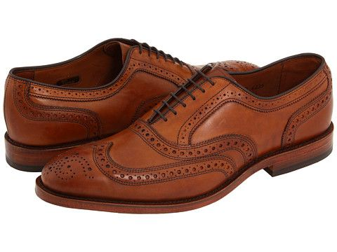 McAllister Walnut Calf Wingtips. Allen-Edmonds. $335.