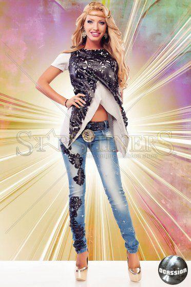 Bluza Ocassion Mystic Leather Grey