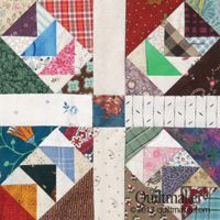Wild & Goosey - Bonnie Hunter Instructions to make the Wild & Goosey block can be found in Bonnie Hunter's Addicted to Scraps column in the May/June '13 issue of Quiltmaker. It's also a block found in EQ7