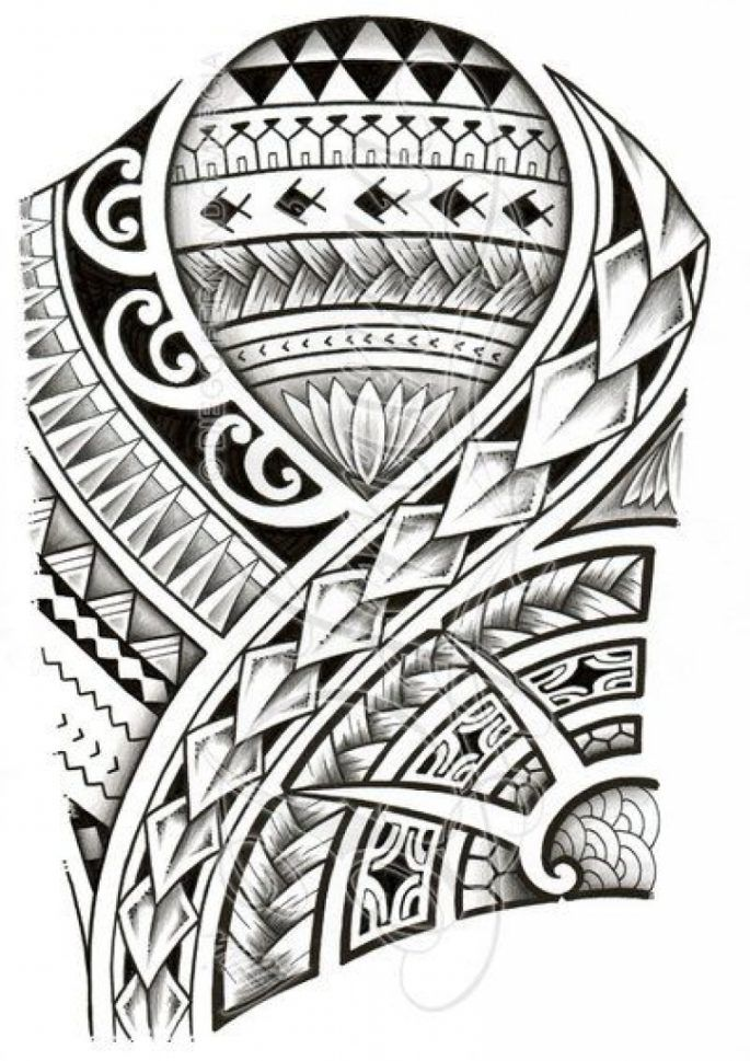 Polynesian Tattoo Designs On Pinterest in The Most Awesome   Maori Tattoo intended for Tattoo Art