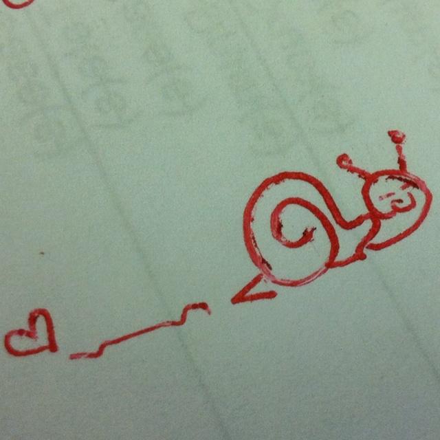 My lil snail buddy