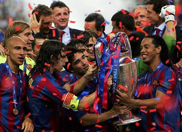 Uefa Champions League Final Arsenal V Barcelona Barcelona Champions League Final Barcelona Team