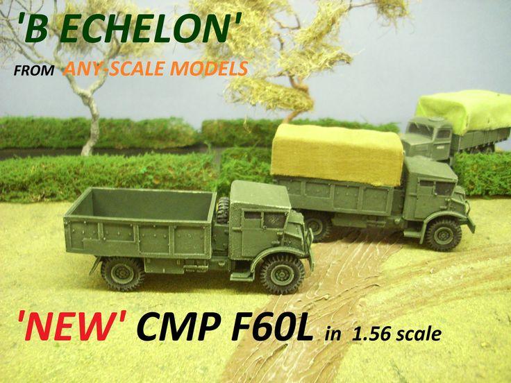 The CMP F60L general service truck in 1/56 scale