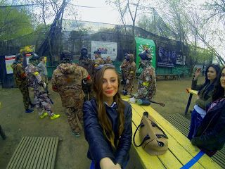 My Life Dream Blog: ПЕЙНТБОЛ Play paintball with newcomers with GoPro