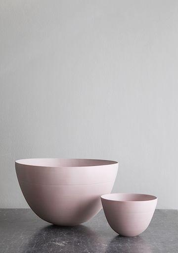 Studio Oliver Gustavo pink bowls