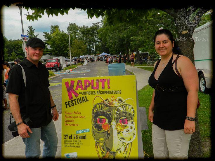 Artiste les Tordus S.E.N.C. at Festival Kaput! (beloeil Qc CANADA) Thums up for this event!!!