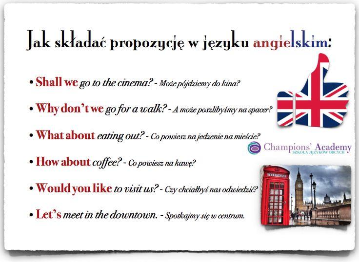 Składanie ofert i propozycji w j. angielskim #angielski #edukacja #nauka języka