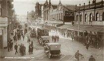 Brisbane St,Launceston, Tasmania in 1934.
