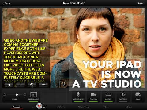 TouchCast Studio: Annotate and Explain Anything