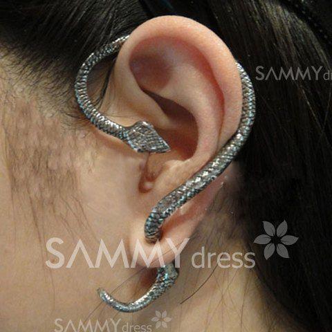 $2.19 Punk Style and Stylish Twining Snake Ear Stud