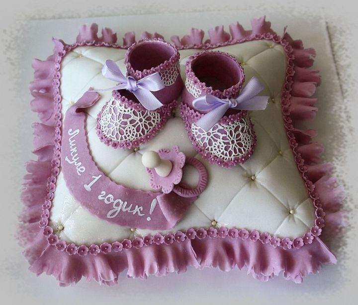 Фото оформление торта на 1 годик ребёнку