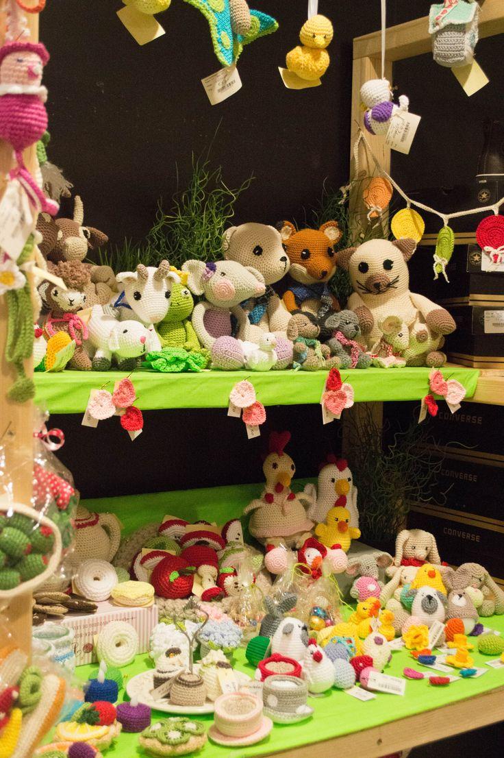Crochet animals - gehaakte knuffel beestjes bij Jouw Marktkraam Uithoorn