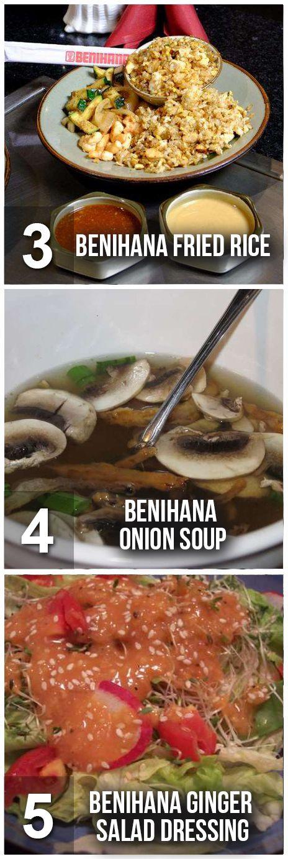 Delicious & Easy Benihana Recipes To Make At Home! #benihana #recipes