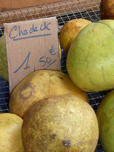 France/Guyane - Marché de Cayenne, fruits de Guyane