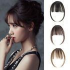 Details about Thin Neat Air Bangs Remy Human Hair Extensions Clip in on Fringe Front Hairpiece – #Air #Bangs #Clip #Details #extensions