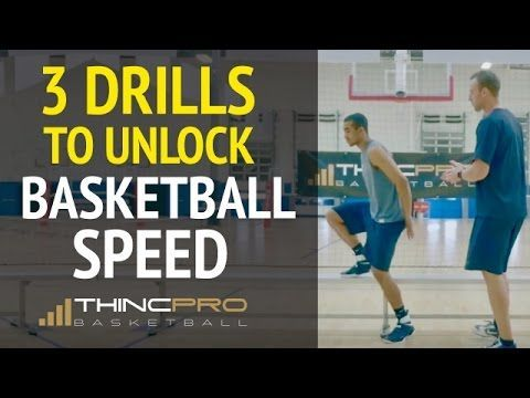 How To: Increase First Step Speed For Basketball (Pro Basketball Quickness, Speed Drills) - YouTube