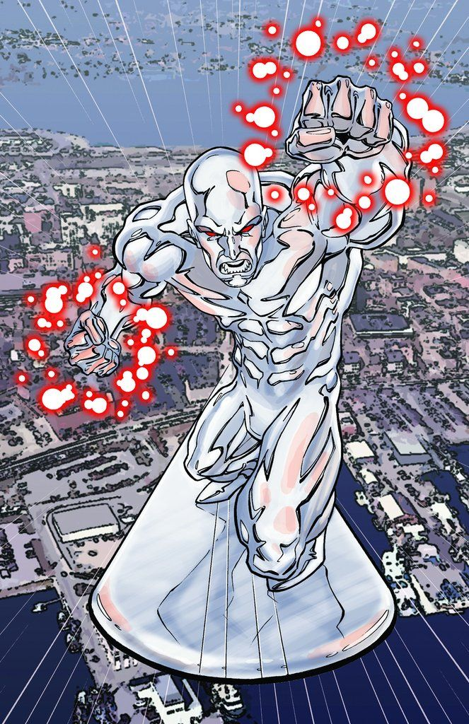 SIlver Surfer by Mike S. Miller