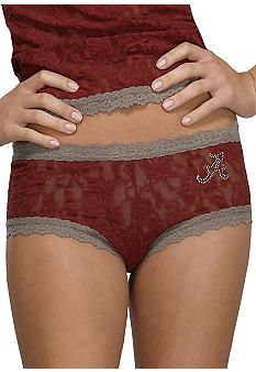 Hanky Panky® Alabama Crimson Tide Boy Short #belk #Alabama #collegiate