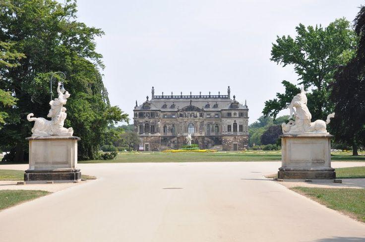 Palais im Volkspark Großer Garten, Dresden