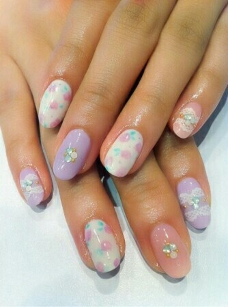 pastels nails | love it