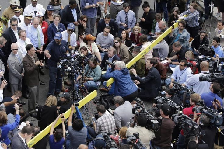 Philadelphia Mayor Michael Nutter speaks at a news conference near the scene of a deadly train wreck, Wednesday, May 13, 2015, in Philadelphia. An...