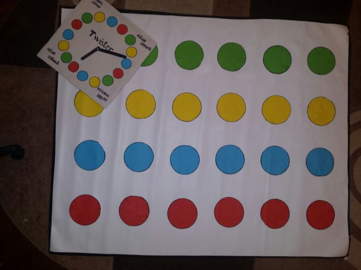 ●○TWISTER GAME ○●