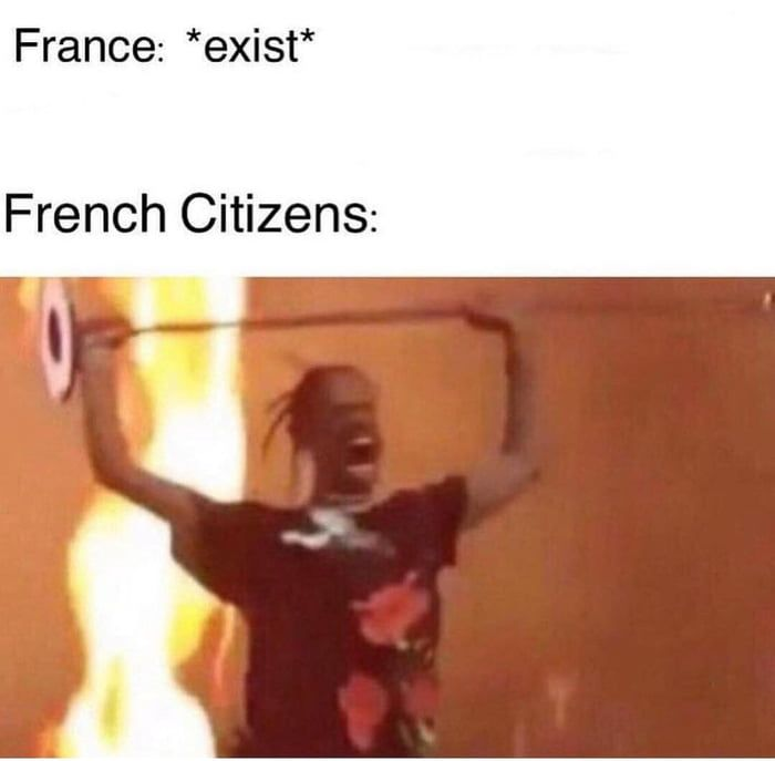 Just A Normal Day In France Historical Memes History Jokes Top Memes