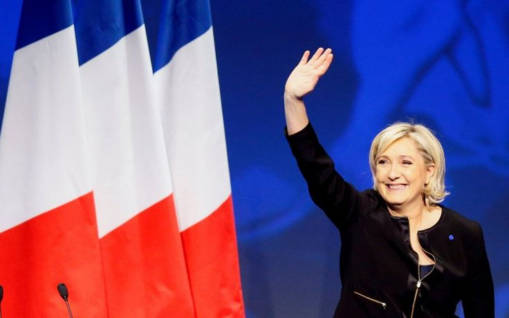 3/1/17 François Fillon, Le Pen's Toughest Rival, is Flaming Out  Far-right anti-immigrant anti-EU pro-Trump candidate Marine Le Pen just moved a step closer to the presidency of France without lifting a finger