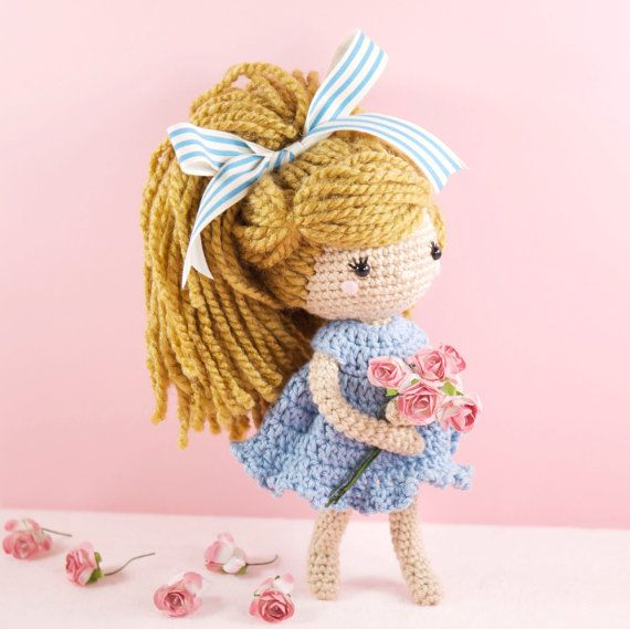 Small Amigurumi Doll Pattern : Crochet Doll Pattern Pinterestte ?rme Bebekler, T?? ...