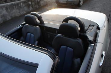 Mercedes SLK 200 #Windscreen, #Windblocker, #Winddeflector by Windblox http://www.windblox.com/