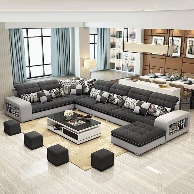 Salon Ultra Modern W Recliner Sofa Set Ek Chic Home In