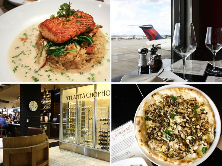 The Best Places to Eat at Atlanta's Hartsfield-Jackson, the World's Busiest Airport #Food #Atlanta