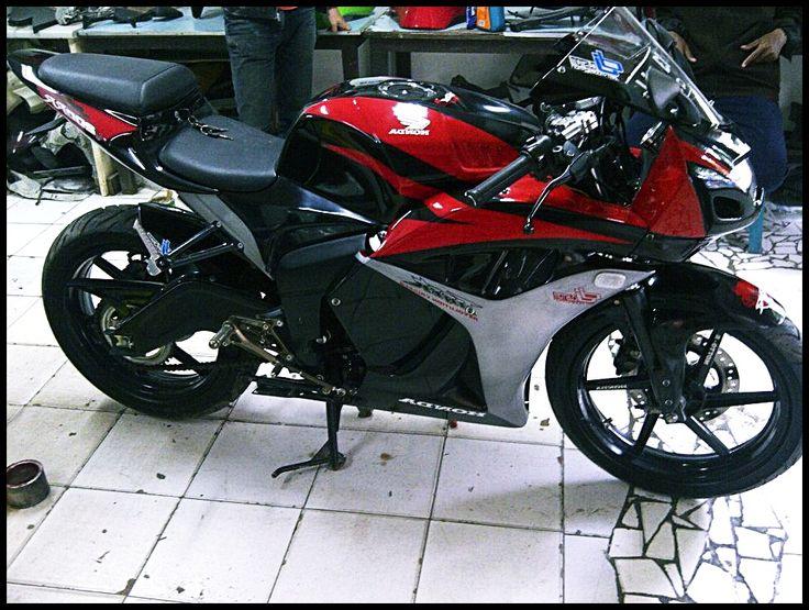 foto hasil modifikasi motor tiger 2015 terbaru