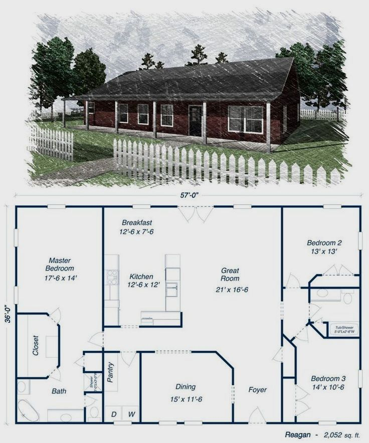 48 best metal building homes images on pinterest metal for Lucky 4 ranch floor plan