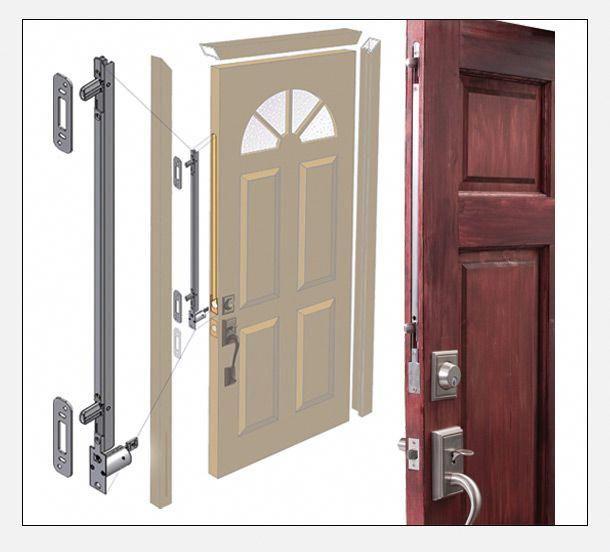 Tru Lock System Locks Doors Dead Bolt Options Gienow Www Gienow Com Frontdoor Smart Door Locks Front Door Handles Front Door Locks