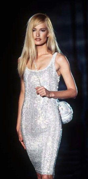 Karen Mulder - Atelier Versace FW 1995